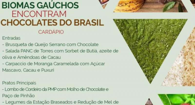 Biomas do Rio Grande do Sul encontram com o Chocolate do Brasil