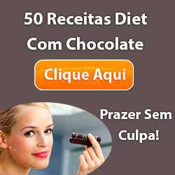 50 receitas diet com Chocolate